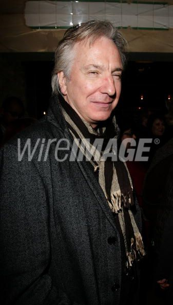 Alan Rickman Asiste a Evento de Caridad en Londres
