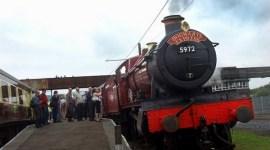 Expreso de Hogwarts, Incluido en Tributo a los Trenes de Vapor en Inglaterra
