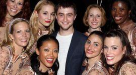 Daniel Radcliffe asiste a la última función de 'A Chorus Line'