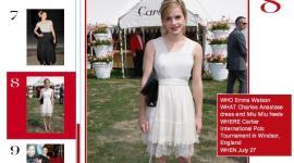 Emma Watson, entre las 10 Mujeres Mejor Vestidas de 'Vogue'