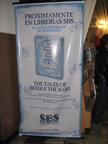 Empieza Promoción de 'Los Cuentos de Beedle el Bardo' en Perú