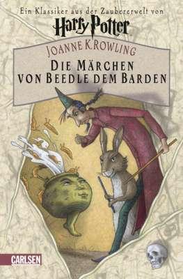 Revelada Portada de 'Los Cuentos de Beedle el Bardo' para Alemania