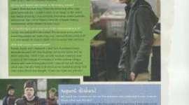 Daniel, Rupert, y Emma, Hablan de los Romances en 'El Misterio del Príncipe'