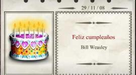 Feliz Cumpleaños, Bill Weasley!
