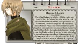 Remus Lupin – Mago del Mes Noviembre
