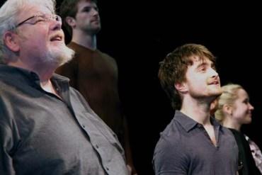 Daniel Radcliffe y Richard Griffiths en Presentación Especial de Caridad de 'Equus'
