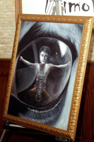 Daniel Radcliffe, Honrado con un Retrato en el Salón de la Fama de 'Tony's di Napoli'
