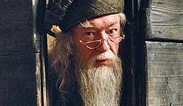 Revelado Retrato de Albus Dumbledore en Nuevo Videoclip del Set de 'Las Reliquias'!