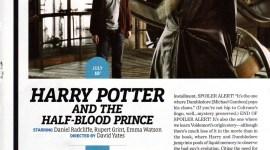 Reportaje de 'Harry Potter y el Misterio del Príncipe' en Entertainment Weekly
