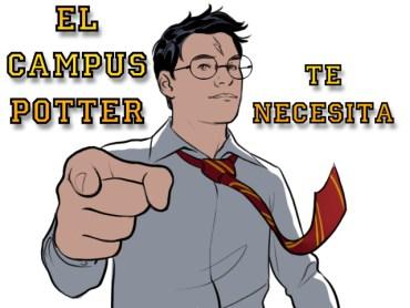 Campus Potter en busca de monitores