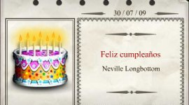 ¡Feliz cumpleaños Neville Longbottom!