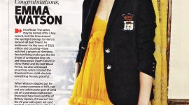 Emma Watson, Artista del Mes en Entertainment Weekly