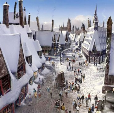 Un vistazo a Hogsmeade en the Wizarding World of Harry Potter