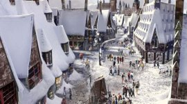 Un vistazo a Hogsmeade en the Wizarding World of Harry Potter