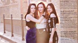 Bonnie Wright para InStyle: Rodaje de 'Las Reliquias de la Muerte' Culmina en Mayo