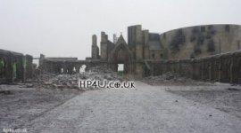 Primeras Imágenes del Castillo de Hogwarts tras la Batalla de 'Las Reliquias'