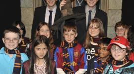 James y Oliver Phelps en la Apertura de 'Harry Potter: La Exhibición' en Ontario