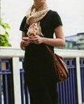 Bonnie Wright en la revista Grazia de la colección de bufandas Leo de Louis Vuitton