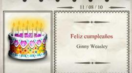 Feliz Cumpleaños, Ginny Weasley!