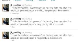 Harry Potter y el Misterioso Caso de los 'Tweets' Repetitivos de JK Rowling
