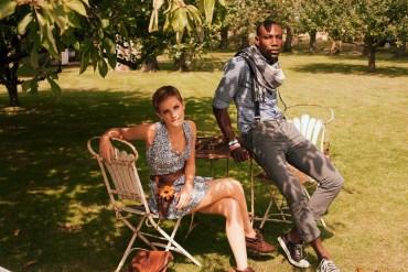Emma Watson Modela la Campaña Primavera/Verano de 'People Tree'