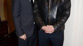 Evanna Lynch y Ciaran Hinds Asisten a la Premier Irlandesa de la Película 'El Rito'