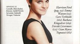 Nuevas Imágenes de Emma Watson para la Nueva Línea de Moda Orgánica de Alberta Ferretti