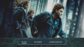 Primer Vistazo al Menú del DVD de 'Harry Potter y las Reliquias de la Muerte, Parte I'