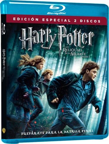 Sale a la venta DVD y Blu-Ray de 'Harry Potter y las Reliquias de la Muerte: Parte I'