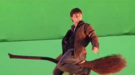 'Harry Potter: The Quest': Creación del Vuelo en Escoba en las Películas de 'Harry Potter'