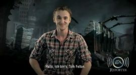 Videoclip: Tom Felton Presenta Instrucciones para el Concurso de EA Games y 'Las Reliquias II'