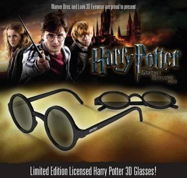 Disponibles Gafas 3D de 'Harry Potter' para el Estreno de 'Las Reliquias de la Muerte, Parte II'!