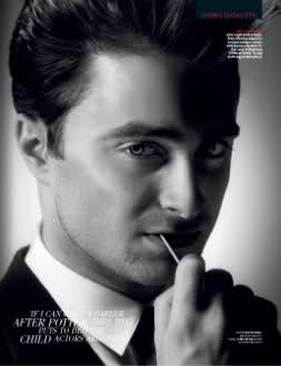 Nuevo Artículo y Sesión Fotográfica de Daniel Radcliffe en la Revista Británica 'GQ'