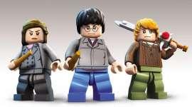'Harry Potter LEGO Años 5-7′: Harry, Hermione, y Ron con la Espada de Godric Gryffindor!