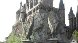 James Cameron, de Visita por el Parque Temático de 'Harry Potter'