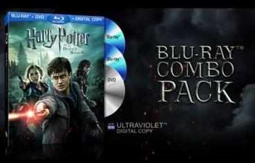 Fantástico Tráiler Publicitario del Blu-ray Combo-Pack de 'Las Reliquias de la Muerte, Parte II'