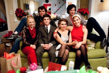 Nueva Imagen Navideña de Emma Watson para la Cinta 'The Perks of Being A Wallflower'