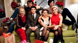 Nueva Imagen Navideña de Emma Watson para la Cinta 'The Perks of Being A Wallflower'