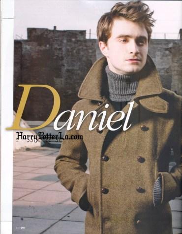Nueva Sesión Fotográfica de Daniel Radcliffe para la Revista Mexicana 'OK!'