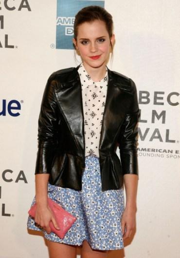 Emma Watson en la Premier de 'Struck by Lightning' del Festival de Cine de Tribeca