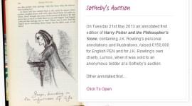 JKR Revela Nuevo Dibujo de Severus Snape y Nota acerca del Primer Boceto del Ollivander