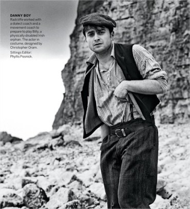 Primeras Imágenes de Daniel Radcliffe como «Cripple Billy» en 'The Cripple of Inishmaan'