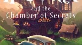 'Scholastic' Revela la Nueva Portada de 'Harry Potter y la Cámara Secreta', Ilustrada por Kazu Kibuishi