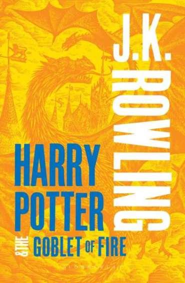 'Bloomsbury' Revela la Nueva Portada de 'Harry Potter y el Cáliz de Fuego' en la Edición para Adultos