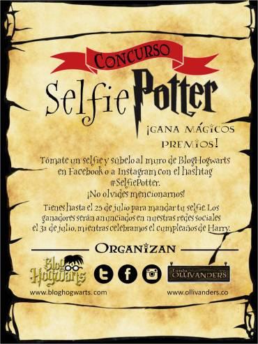 Concurso #SelfiePotter