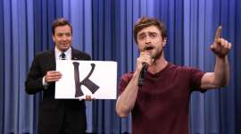 Video de la Semana: Daniel Radcliffe Rapea el «Alphabet Aerobics»