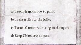«Truco» de Pottermore: El Inusual Tapiz de Barnabás el Chiflado