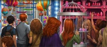 JK Rowling Revela Nuevos Textos de 'El Caldero Chorreante' y 'Florean Fortescue'