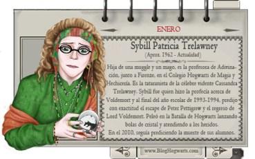 Sybill Trelawney – Mago del Mes Enero