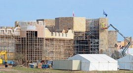 Rumor: Construyen Enorme Castillo para el Rodaje de 'Animales Fantásticos'